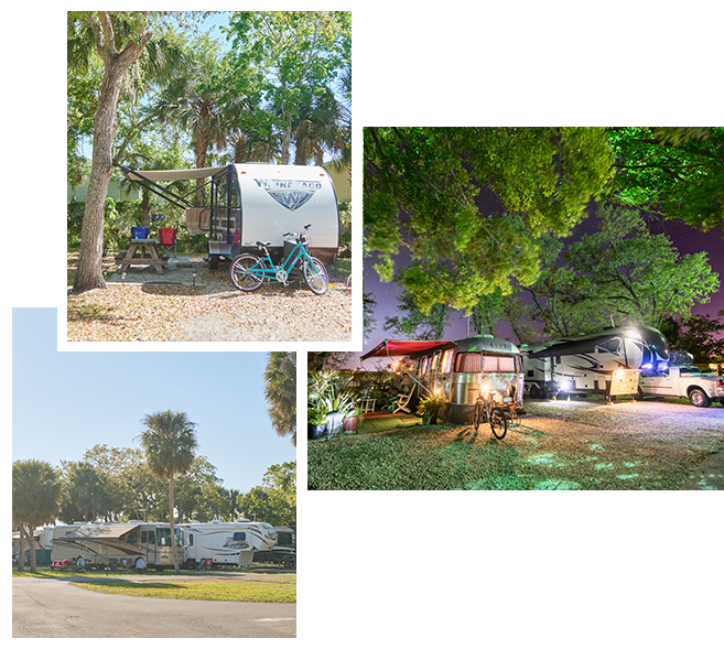 Space Coast RV Collage